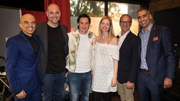 Image des conférenciers invités à la soirée bénéfice de CSDI