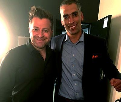Patrick Groulx et Dr Éric Lacoste