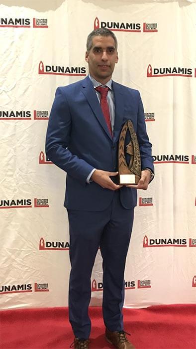 Dr.Lacoste-Lauréat Prix Dunamis 2019